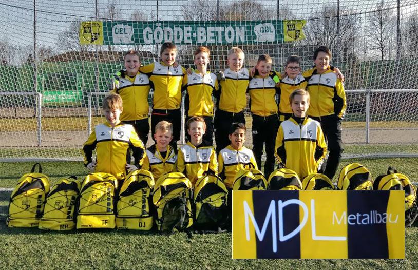 E1 Mannschaft von Westfalen 21 Liesborn